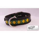 Huichol type B dog collar